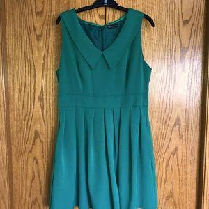 Miss Selfridge Kelly green dress